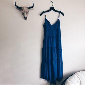 BCBGMAXAZRIA | Tiered Midi Dress